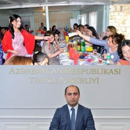 Ağdam Rayon Təhsil Şöbəsinin Müdirəsi Karantin Rejmin Pozdu Nişan Və Toy Mərasimi Keçirib – FOTO