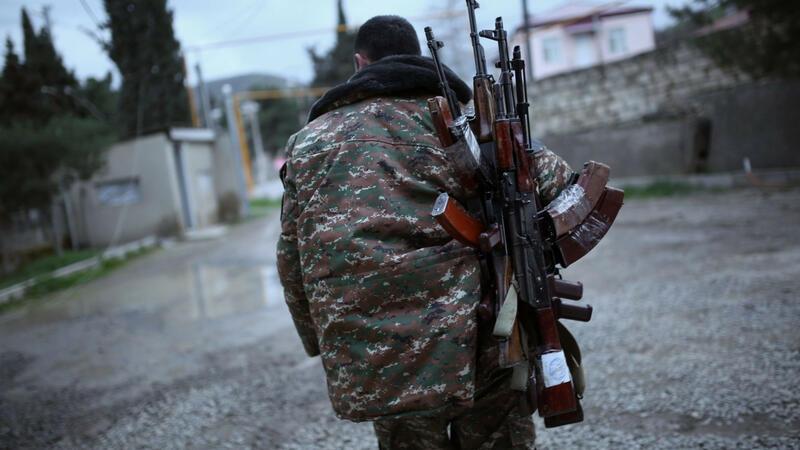 Qarabağdan silahları İrəvana daşıyan ermənilər tutuldu