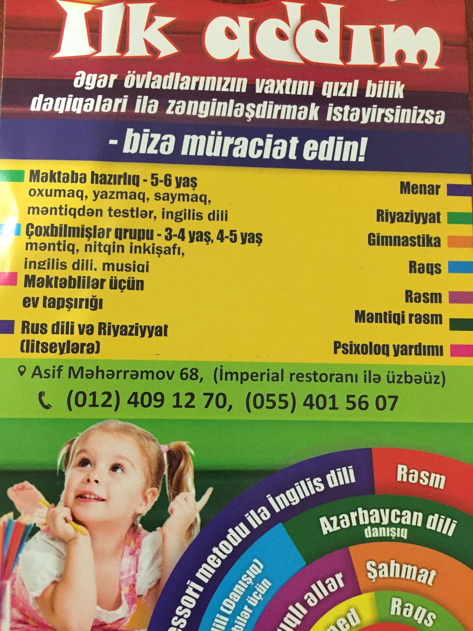 Koronavirus yayan hazırlıq kursları