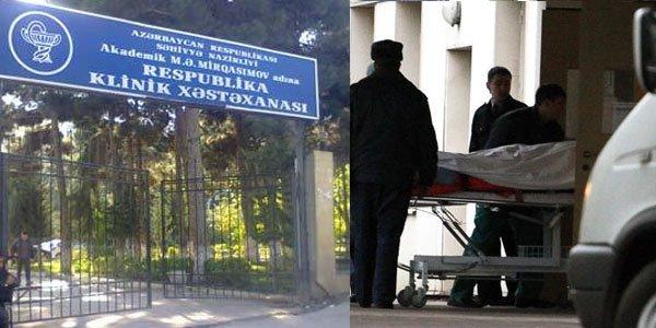 Rüşvət və koronavirus yuvasına çevrilən Respublika Klinik Xəstəxanası – Burda hərənin öz qiyməti var(ARAŞDIRMA)