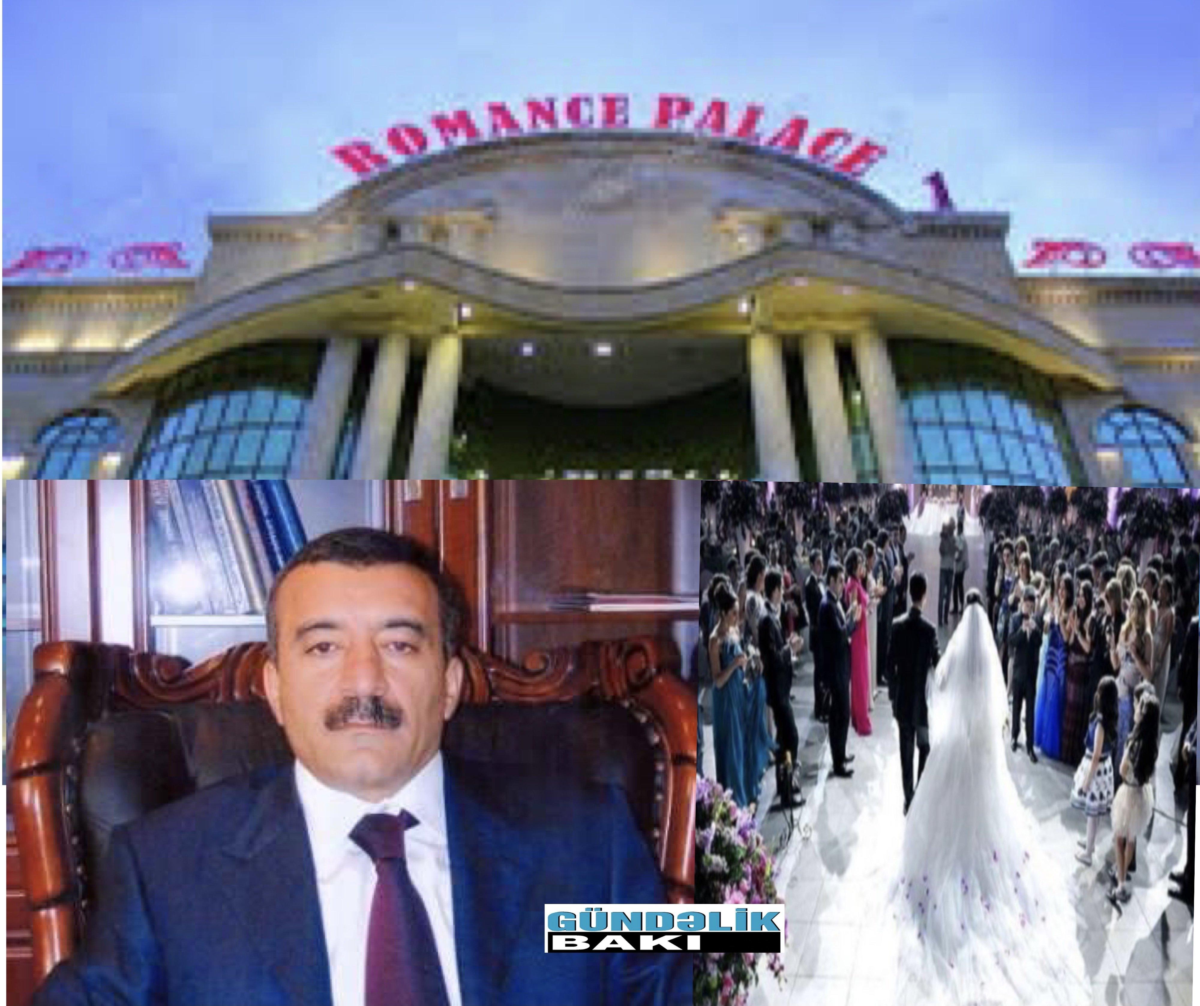 """Karantin vaxtı toy mərasimi keçirilən """"Romance palace""""ın sahibi İman Quliyev kimdir ? - Real TV-nin sahibi ölkə qanunlarını niyə pozur ?"""