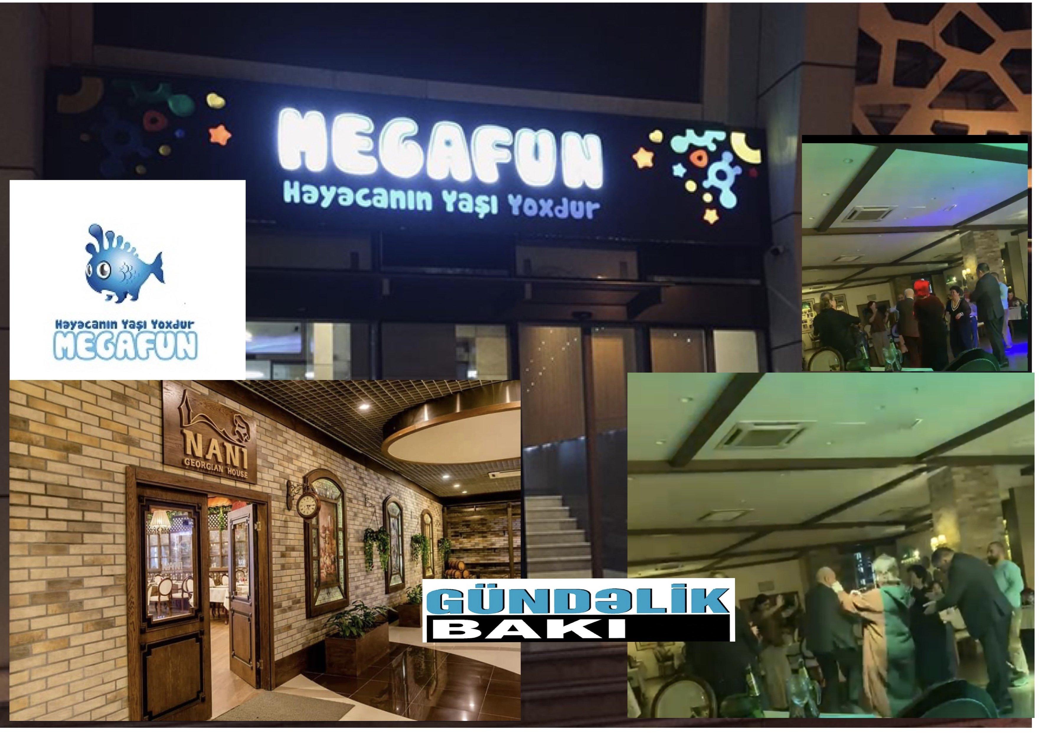"""""""Meqafun""""un NANİ GEORGİAN HOUSE restoranında karantin qaydaları pozulur – ŞOK VİDEO"""