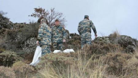 Qarabağda daha 9 erməni cəsədi aşkarlandı