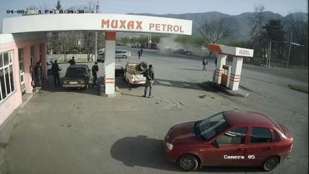 Zaqatalada baş verən ağır qəzanın görüntüləri - ANBAAN VİDEO
