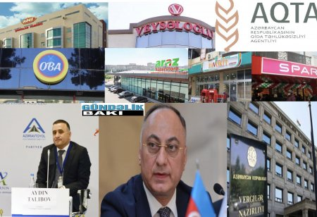 """Dövlət vergi Xidmdəti və Qida Agentliyi niyə """"Veysəloğlu""""da yoxlama aparmır ?-Bu şirkətin arxasında hansı yüksəkçinli məmur dayanır ?"""