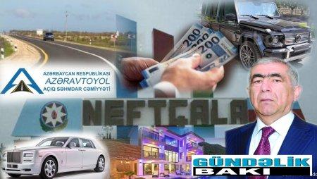 Neftçaladakı  50 saylı Yol idarəsinin müdiri MİLYONÇU Füzuli Babayevin və oğlu Ruslanın avtomobil kolleksiyası...