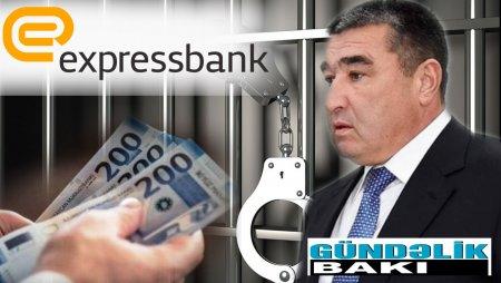 """Etibar Pirverdiyev ona məxsus """"Expressbank""""ı satır.-  Hansı məmura və neçəyə ?"""