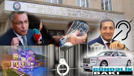 """Qaçqınkom sədrinin  """"cırıx  beşlik""""  söhbəti...-  Qaçqınların hesabına milyonçu olan Rövşən Rzayev  onlardan  5 manat  kart pulu tutur"""