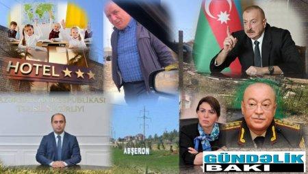 Aydın Şamoyev  Masazırda nə tikir: məktəb, yoxsa otel ?- Təhsil Nazirliyi,FHN hara baxır ?