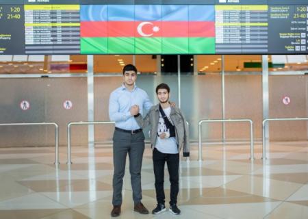Türkiyəyə göndərilən daha 4 qazimiz Vətənə geri döndü - FOTOLAR