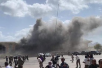 Hərbi bazada güclü partlayış: 36 hərbçi...(VİDEO)