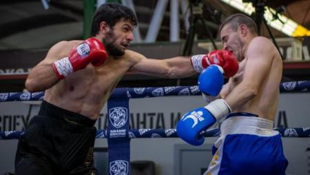 Həmyerlimiz məşhur boksçunun rəqibini nokaut etdi - FOTO+VİDEO