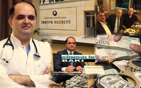 """""""Baş""""sız  səhiyyəmizin təzə """"baş""""ı  peyda olub…- Həkim-deputat Rəşad Mahmudovun NAZİR olma eşqi..."""