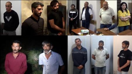 Polis əməliyyatlar keçirdi - 13 nəfər saxlanıldı