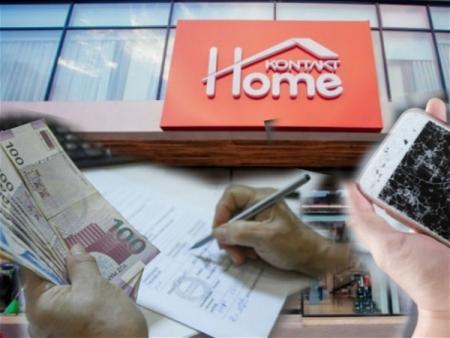 """""""Kontakt Home"""" müştərinin telefonunu itirdi: Ödənişləri maaşdan tutur - ŞİKAYƏT/FOTO"""
