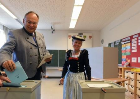 Almaniyada parlament seçkiləri keçirilir