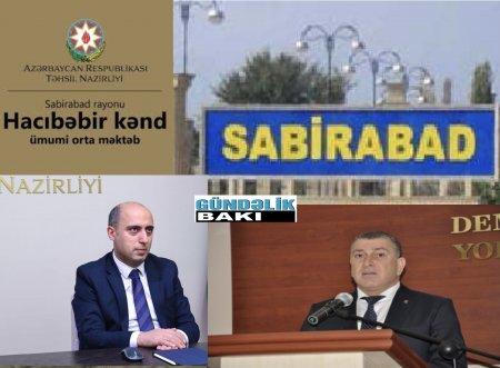 Məktəb, yoxsa örüş yeri ?- Sabirabadın Hacıbəbir kənd orta məktəbi at tövləsindən də pisdir...