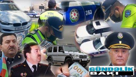 Bakı Şəhər Dövlət Yol Polisindən ŞOK GÖRÜNTÜLƏR- VİDEO